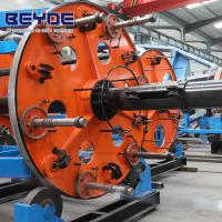 Quality Drum Type Cable Laying Machine Assembling Plate With Transmission System for sale
