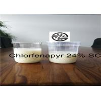 Buy cheap Low Toxicity Organic Crops Pesticides 24% SC Chlorfenapyr CAS 122453-73-0 from wholesalers