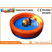 Buy cheap 0.55mm PVC tarpaulin Giant  Inflatable Rodeo Bull Mechanical Bull Sports Games from wholesalers