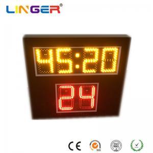 China Led Digital Shot Clock For Scoreboard , Basketball Shot Clock 545mm X 600mm X 90mm wholesale