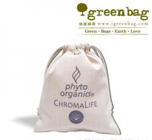 China Organic Cotton Drawstring Bag on sale