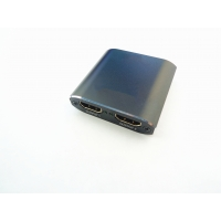 China 1 In 2 Out 4K Aluminum HDCP Ver1.4 Audio Video HDMI Switch on sale