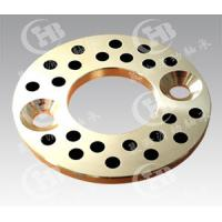 China CHB-JTW Self-lubricating Oilless bronze Thrust Washers with graphite wholesale