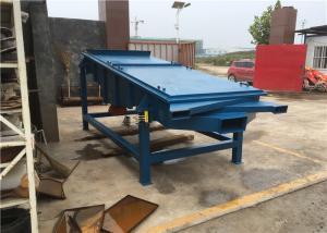 China Rubber Granule Rectangular Quarry 3t/H Sand Vibrating Screen wholesale