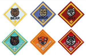 China Polyester Thread 120D Boy Scout Patch wholesale