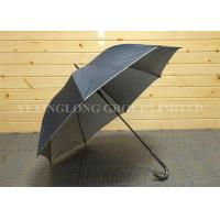 Buy cheap Strong Self Opening Curved Handle Umbrella With Logo Priting 190T Fabric Material from wholesalers