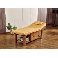 China Multifactional Portable Beauty Couch With Detachable Headrest Design wholesale
