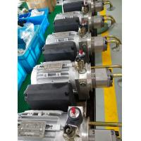 Buy cheap AC220V 0.75KW 1440rpm 50hz motor 2.5cc/r gear pump with 6L steel tank Hydraulic Power Unit for  Electric Lift from wholesalers