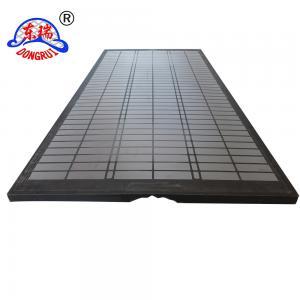 China DURAFLO Composite OEM Screens for MONGOOSE PRO, MONGOOSE PT & MEERKAT Shakers Screens 585*1165*39mm API80 Standard wholesale