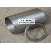 China Steel XCMG Spare Parts , Engine Cylinder Sleeves with Adjusting Ring wholesale