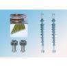China 25kV/100kN Silicone Rubber Composite Polymer Suspension Insulator wholesale