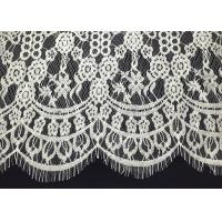 Buy cheap Double Scalloped Eyelash Antique Lace Trim With 60