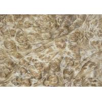 Quality 0.5 mm Thickness Mappa Burl Wood Veneer For Hotel Decoration for sale