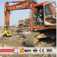 China BEIYI BYKC04 Heavy equipment hydraulic excavator compactor hydraulic palte compactor for excavator wholesale