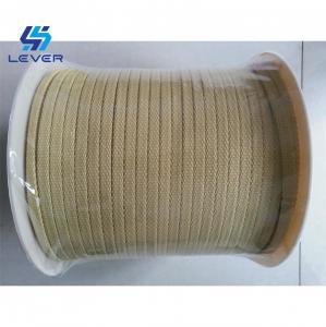 China Kevlar Aramid Ropes for Glass Tempering Furnace 10 x 3mm Northglass tempering furnace rope wholesale