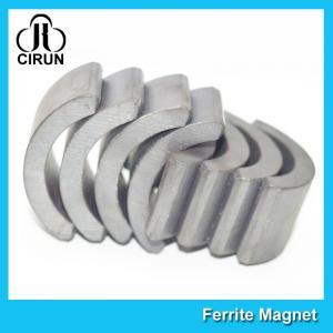 China Permanent Ferrite Step Motor Magnet Ceramic Arc Anti - Corrosion wholesale