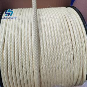 China Breaking 353N Glass Tempering Dia 5mm Aramid Fiber Rope wholesale