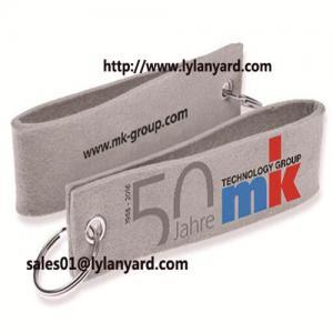China Eco-Friendly Felt Key Ring Type Felt Keychain wholesale