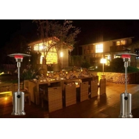 Quality Factory price Stainless Steel Silver Flexible Propane Outdoor Infrared Gas Heaters for sale