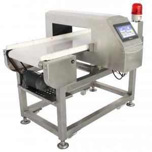 China Conveyor Metal Detector For Frozen Food Industry , Frequency Adjustable wholesale