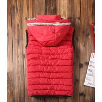 China Hotest men's classic designer b-urberry winter 2014 men's wear red waistcoat,free shipping wholesale