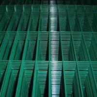 Quality PVC-coated Panel Welded Wire Mesh, Made of GI/SS/PVC, Used in Building for sale