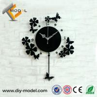 Quality Modern Acrylic Wall Clock/ Wedding Souvenirs Gifts / Pendulum Wall Clocks for sale
