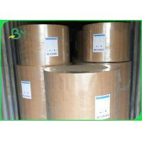 China Eco Friendly Kraft Paper Jumbo Roll 120gsm Customized Size For Fast Food Wrapping wholesale
