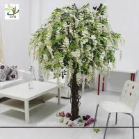 China UVG CHR047 Trees for Wedding white wisteria flowers home garden decoration wholesale