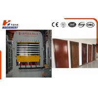 China Manual And Automatic Embossed Door Skin Press Machine For Multilayer Door Press wholesale