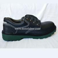 China CE Standard Genuine Leather PU outsole Hit Resistant Safety Work Shoes wholesale