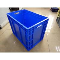 Buy cheap Virgin Polyethylene Blue 600*400 mm Euro Stacking Containers With Loading from wholesalers
