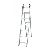 China Silver 6.24m 2x13 Foldable Extension Ladder wholesale