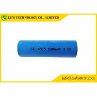 China 3V Lithium Primary Battery AA Size 1500mah , CR14505 Lithium Battery wholesale
