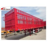 China 600-1000mm Curtin Side Wall Semi Trailer SAF Brand Two Speed Landing Gear wholesale