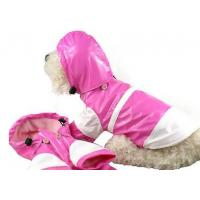 China PVC Female Akita Dog Clothes Raincoat with Hat Waterproof XL for Shiba , Beagle Pet wholesale