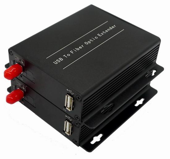 USB 2.0 To Fiber Optic Extender
