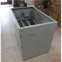 China ROHS UPS Battery Cabinet , A10 Telecom Cabinet With 10units Batteries Inside wholesale