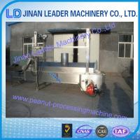Quality Industry Automatic Electric Heating Frying Machine for Peanuts for sale