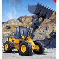 China Front End Loader Compact Wheel Loader 5T 3m3 Bucket Capacity, Compact Tractor Front Loader wholesale