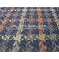 Quality TR Polyester Viscose Rayon Jacquard Woven Fabric Clothing Material for sale