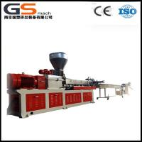 China PET Bottle Flakes Plastic Recycling Extruder With Twin Screw Granules Making Machine wholesale