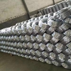 China Zinc coating 0.9mm 20 Gauge Hot Dip Galvanized Iron Wire for Mesh Weaving wholesale