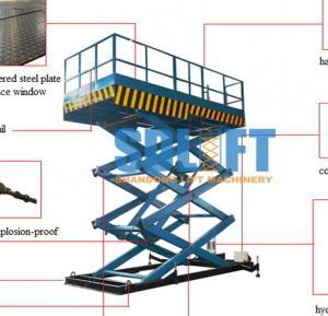 Buy cheap Hydraulic Elevator Warehouse Lift Platform from wholesalers