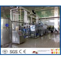 Buy cheap 2000L/h Dairy Processing Plant with homogenizer and pasteurizer 3000-4000bottles from wholesalers