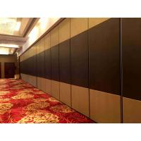 China Vinyl Finish Movable Partition Wall Heavy Duty  Polyester Powder Coating wholesale