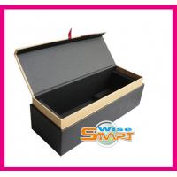 China Custom Rigid Paper / Cardboard / Wooden Offset or UV Printing Wine Packaging Boxes wholesale