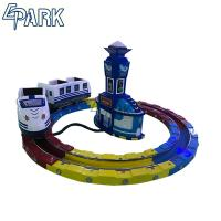 China Theme park coin operated track railway train EPARK  cost effective electric kids amusement ride on machine on sale