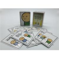 China Personalized Playing Cards , Joking Hazard Blank Cards Easy Operation wholesale