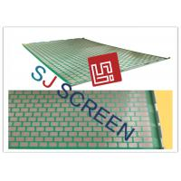 China 2000 48- 30 PWP Shale Shaker Screen Durable 2-3 Layers 1053x697mm Size wholesale